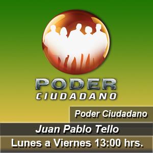 Poder Ciudadano con Juan Pablo Tello