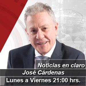 Claro Noticias con José Cárdenas